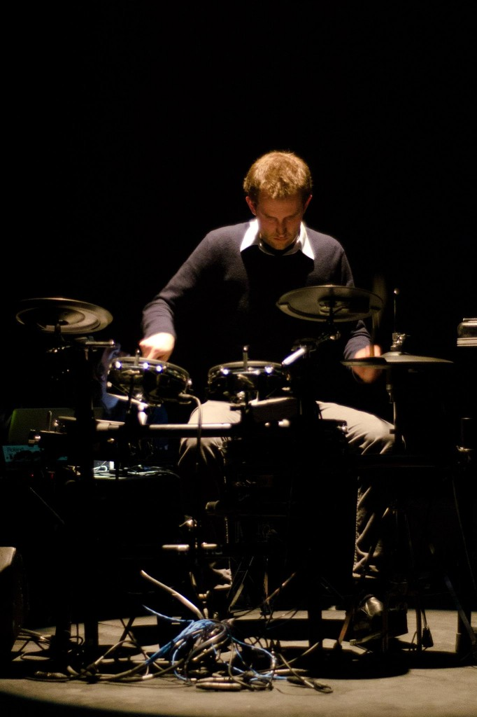 Ben Duinker performing SPIN on a Roland TD-20.