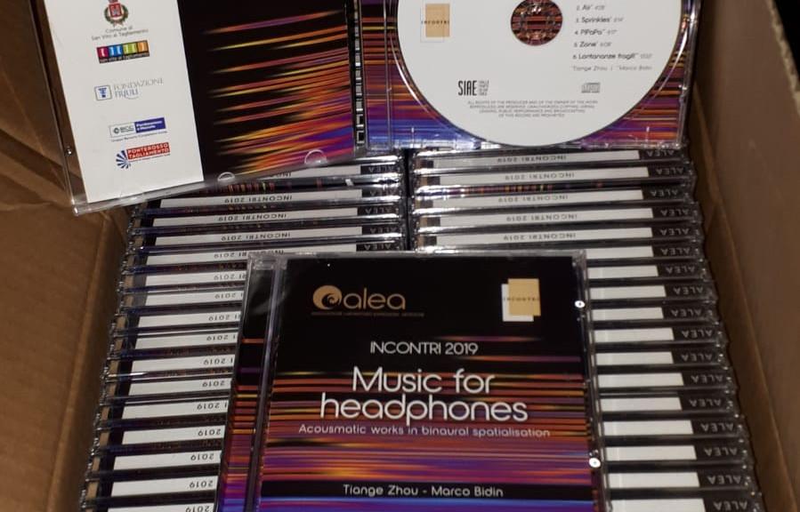 Binaural CD Album - produced with OMPrisma