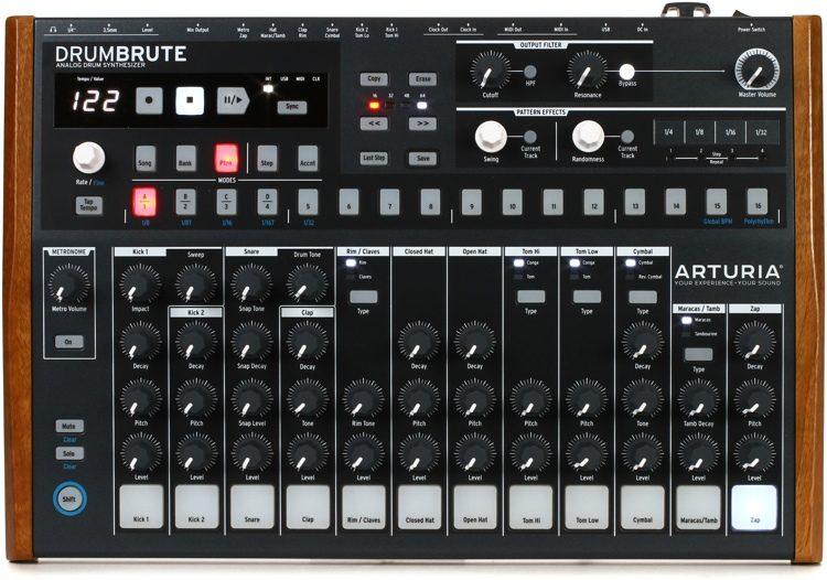 MUMT 306 Final Project: Arduino drum sequencer